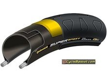 CONTINENTAL TYC00345 SuperSport Plus 700 x 23C Tyre.