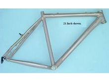 "Nelson A320 Unpainted 21"" ATB Hard Tail Frames"