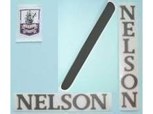 Nelson Self Adhesive Frame Transfers - With Headbadge.