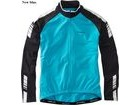 "Madison Peloton Men's Long Sleeve Thermal Roubaix Jersey 34- 36"" Chest (S) Blue (New model)  click to zoom image"