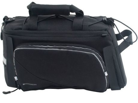 Madison MCB004 RT20 Rack Top Bag with Fold Out Pannier Pockets click to zoom image