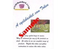 CYCLEBASKET.COM Gift Tokens £30.00