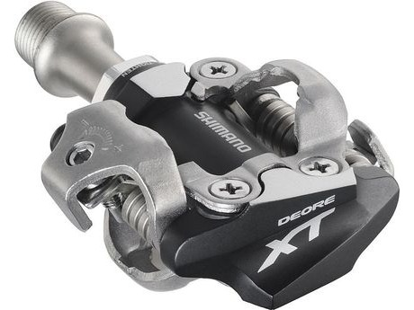 Shimano Deore XT PDM780 MTB SPD Pedals - Two sided mechanism - Silver. click to zoom image
