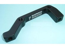 Shimano SMMAR180PS Adapter Post Calliper I.S. Frame Mount - 180mm Disc.