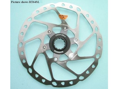 Shimano SMRT64S Centre-Lock Disc Rotor 160mm click to zoom image