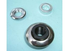 Shimano 3CJ 9805 FH-5600 Left Hand Lock Nut, Spacer & Cone.