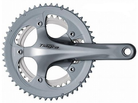 Shimano FC-4600 Tiagra 10-speed double chainset - 52 / 39T click to zoom image