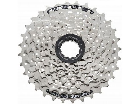Shimano CS-HG41 8 Speed Cassette click to zoom image
