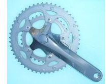 Shimano FC-2450 Claris Octalink Compact Chainset, 8 Speed - 50 / 34T.