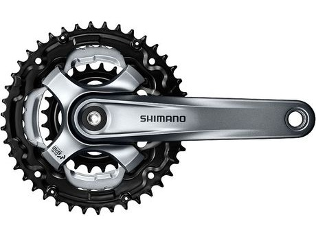 Shimano FC-TY701 Tourney chainset 7 / 8 Speed click to zoom image