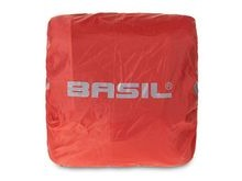Basil BAS50400 Raincover for Sport Design Double Pannier Bag Red.