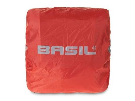 Basil BAS50400 Raincover for Sport Design Double Pannier Bag Red. click to zoom image