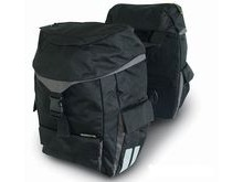Basil BAS17343 Water Repellent Sports Double Rear Bag.