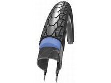 Schwalbe TYS0098: Schwalbe Marathon Plus 700 x 25 With Reflective Sidewall & Smart Guard.