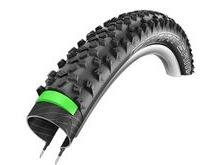 "Schwalbe SCH11100700 26"" Smart Sam Plus  Wired Greenguard Dual Black."